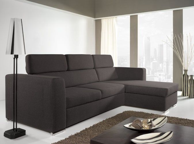 Norwich Iii Fabric Corner Sofa Bed Canape Angle Canape D Angle Cuir Meubles Loft