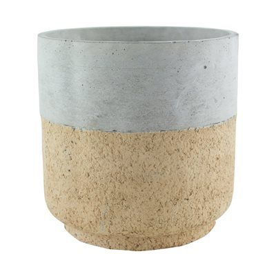 Syndicate Sales 760 Modern Cork Cylinder Natural and Rustic