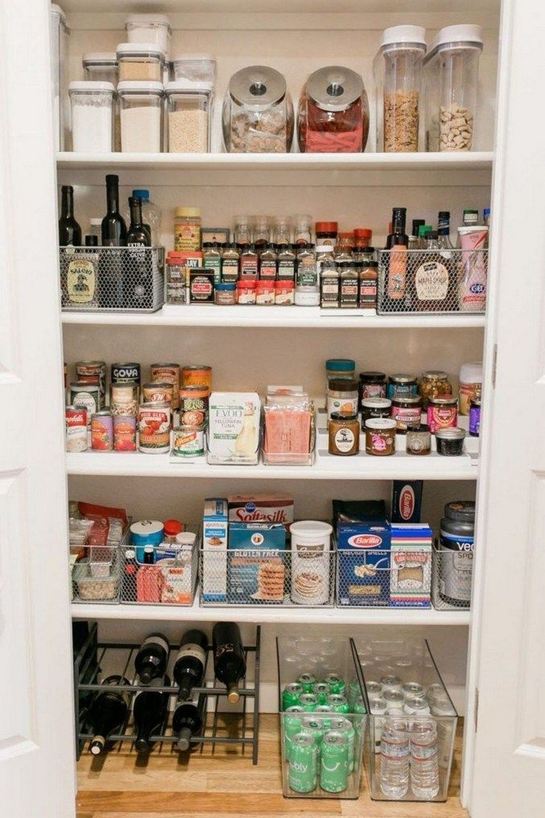 18 how to create a perfectly organized pantry with images on clever ideas for diy kitchen cabinet organization tips for organizers id=90959