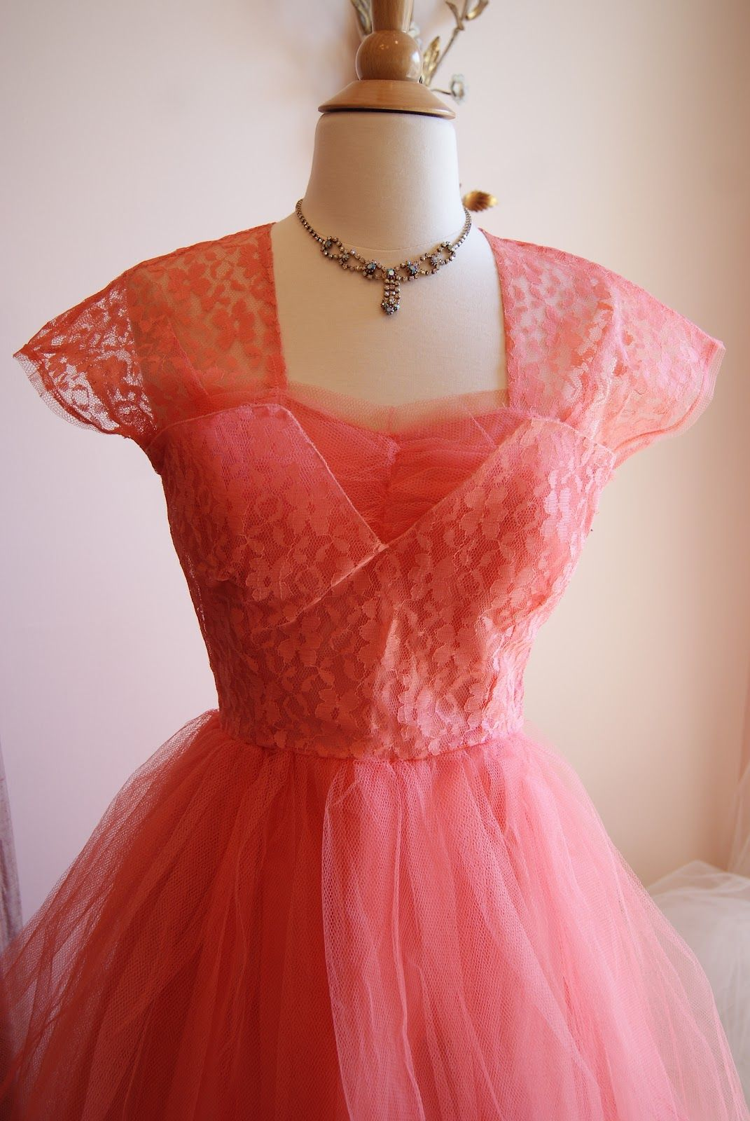 Xtabay Vintage Clothing Boutique - gorgeous 1950s prom dress ...