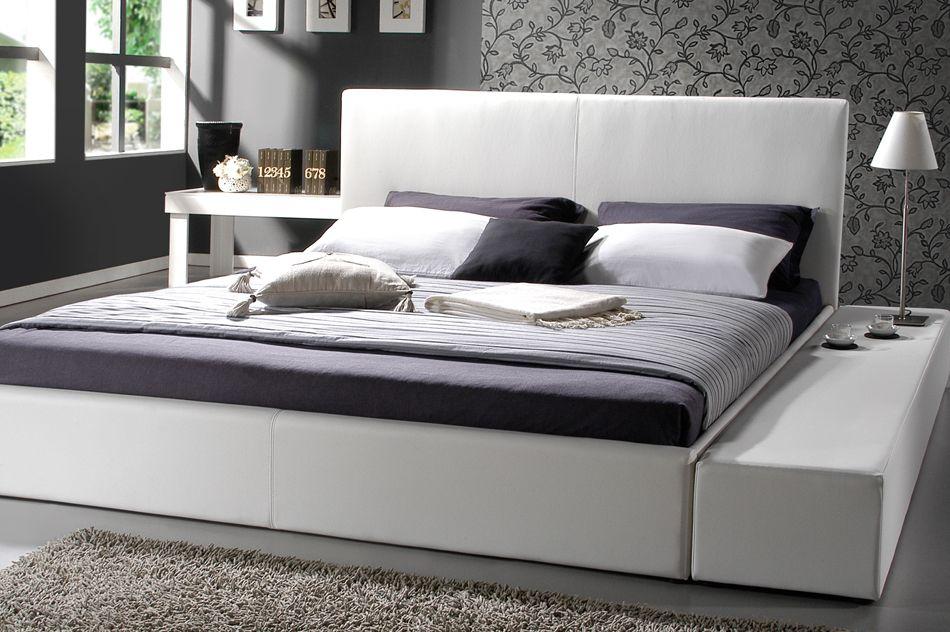 King Size Bett Gre. Modern Platform Bed Cherry Mid Century Modern ...