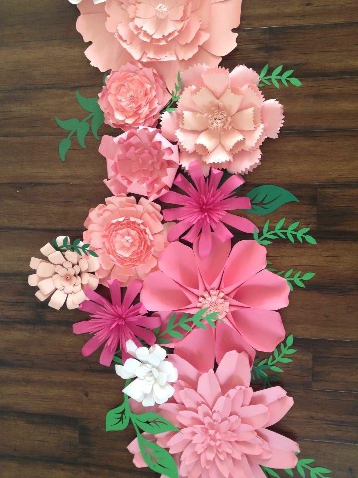 Blumen basteln – 3 Anleitungen und 30 tolle Ideen – Haus Dekoration Mehr