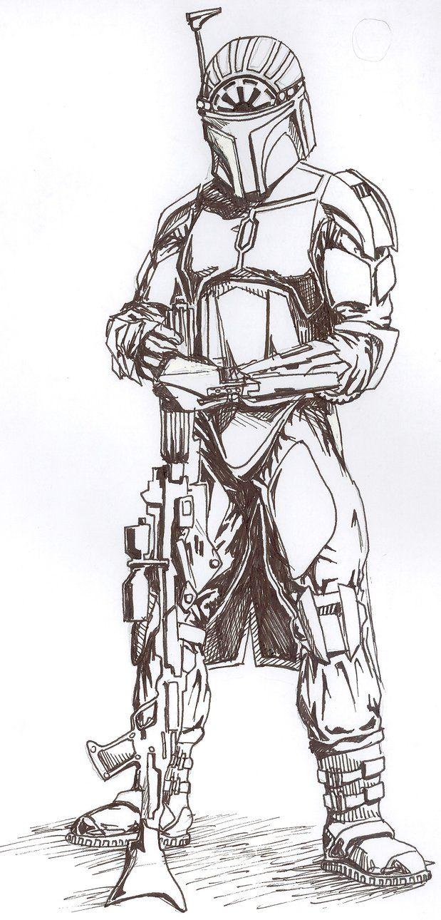 mandalorian wars Google Search Star wars drawings
