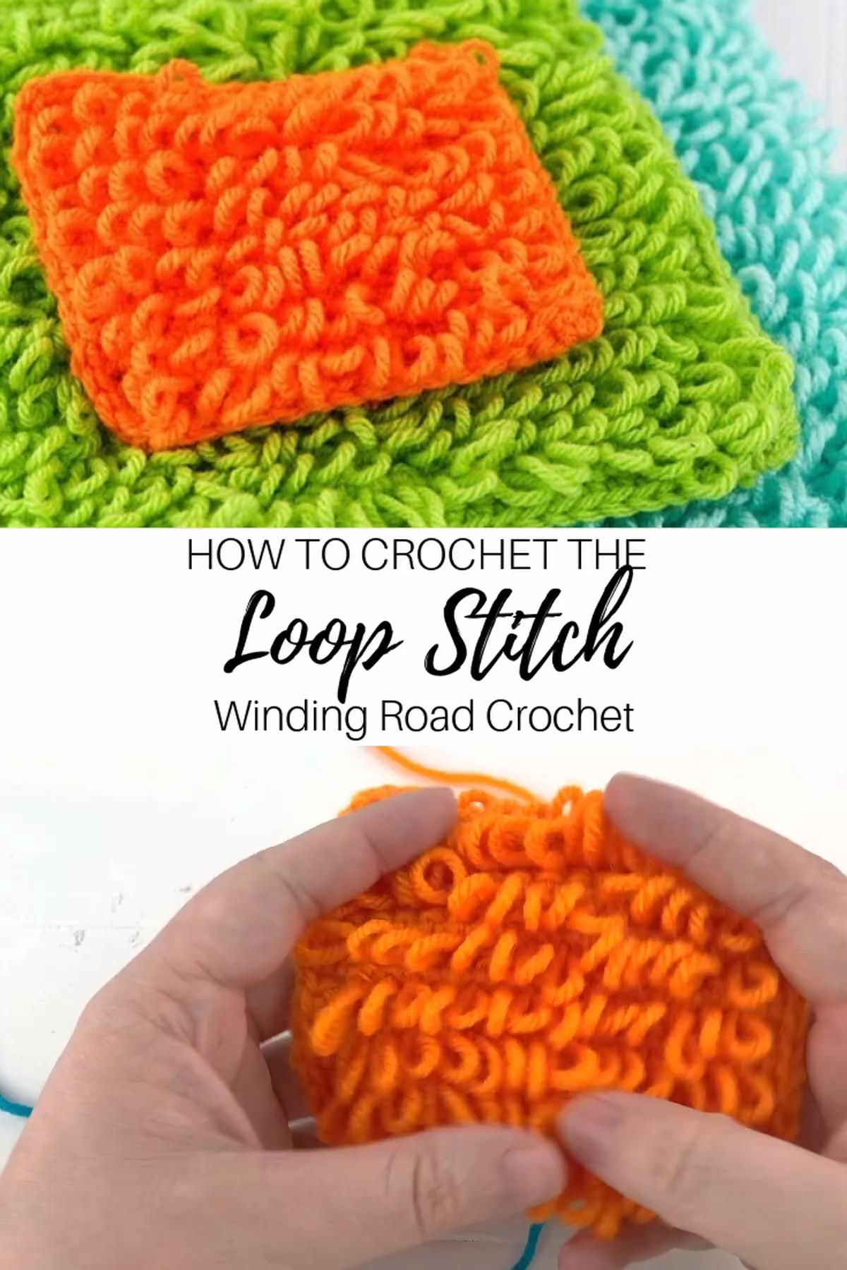 Häkeln: Loop Stitch Video Tutorial – Diy Projekt –  – #DIY #Häkeln #Loop #Proj…