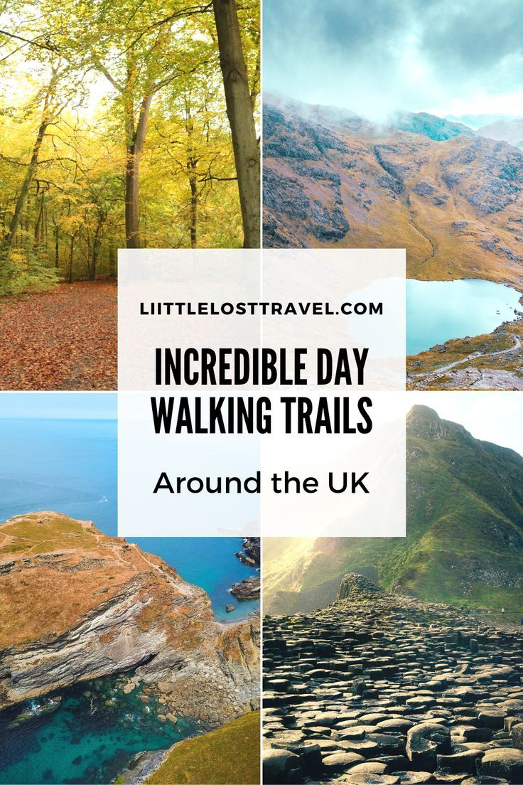 Incredible OneDay Walking Trails in the UK Little Lost