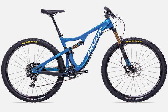 Pivot Mach 429 Trail http://www.bicycling.com/bikes-gear/recommended/16-for-2016-the-best-new-mountain-bikes-of-2016/slide/3
