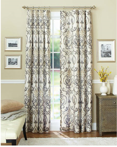 Better Homes And Gardens Ikat Scroll Curtain Panel Walmart Panel Curtains Cool Curtains Curtains