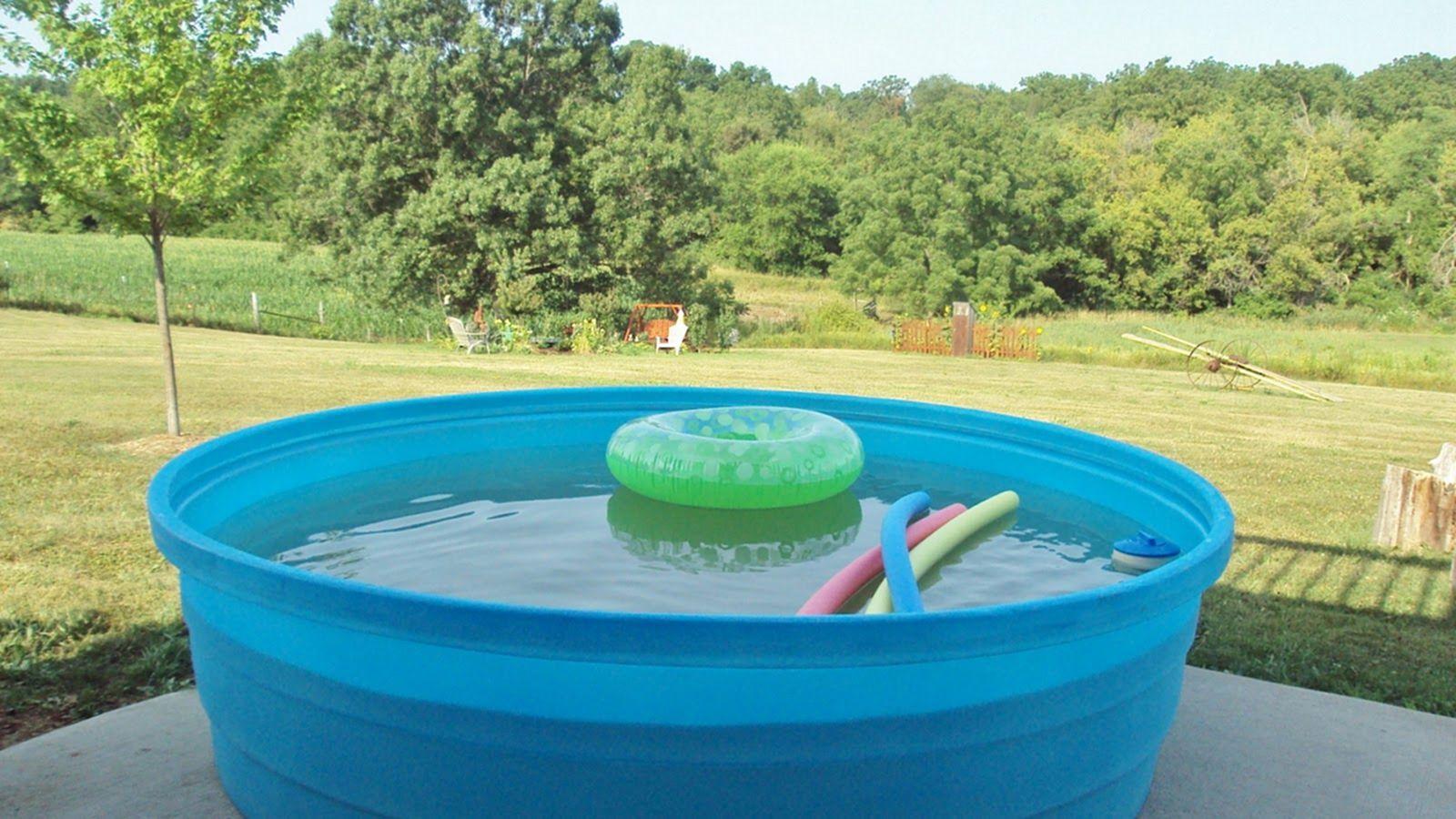 50 Best Mini Stock Tank Pool Plastic Material For Safe Kids Ideas