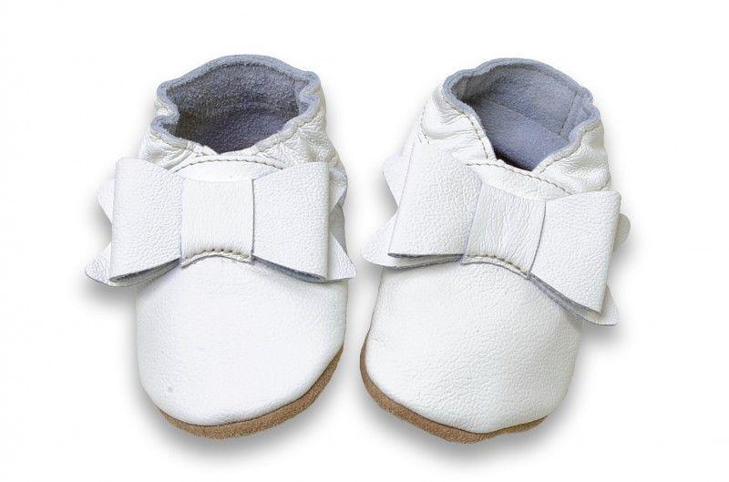 Taufschuhe mit Schleife von HOBEAGermany  Taufe outfit, Kinder schuhe und Babyschuhe