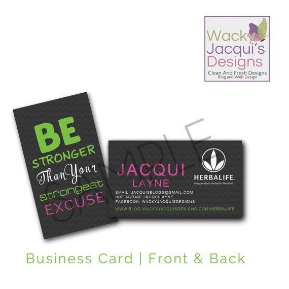 Herbalife business cards herbalife branding herbalife branding las vegas fit mom business card design reheart Choice Image