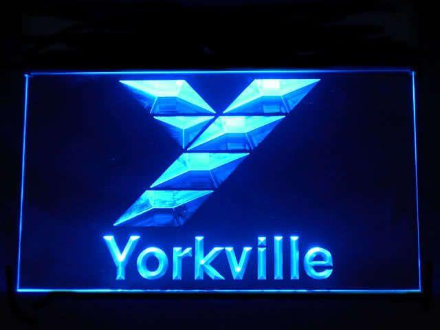 Yorkville Speaker LED Light Sign