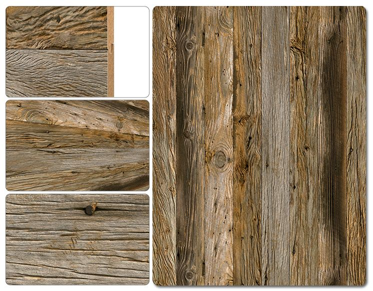 Wall Paneling - Decorative Print Collection - Key West Driftwood