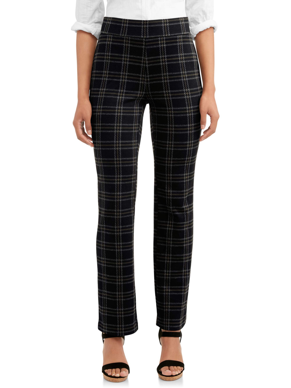 Time And Tru Time And Tru Women S Knit Bootcut Pant Walmart Com In 2021 Pants For Women Bootcut Pants Work Pants Women [ 1333 x 1000 Pixel ]
