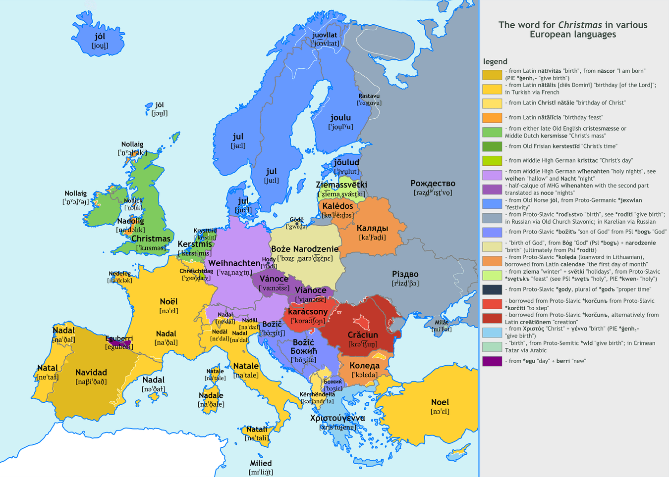 Alternative distribution of languages in europe source link mapy these 20 fascinating etymology maps show how similar words are across europe in various languages these maps reveal the roots of europes languages gumiabroncs Images