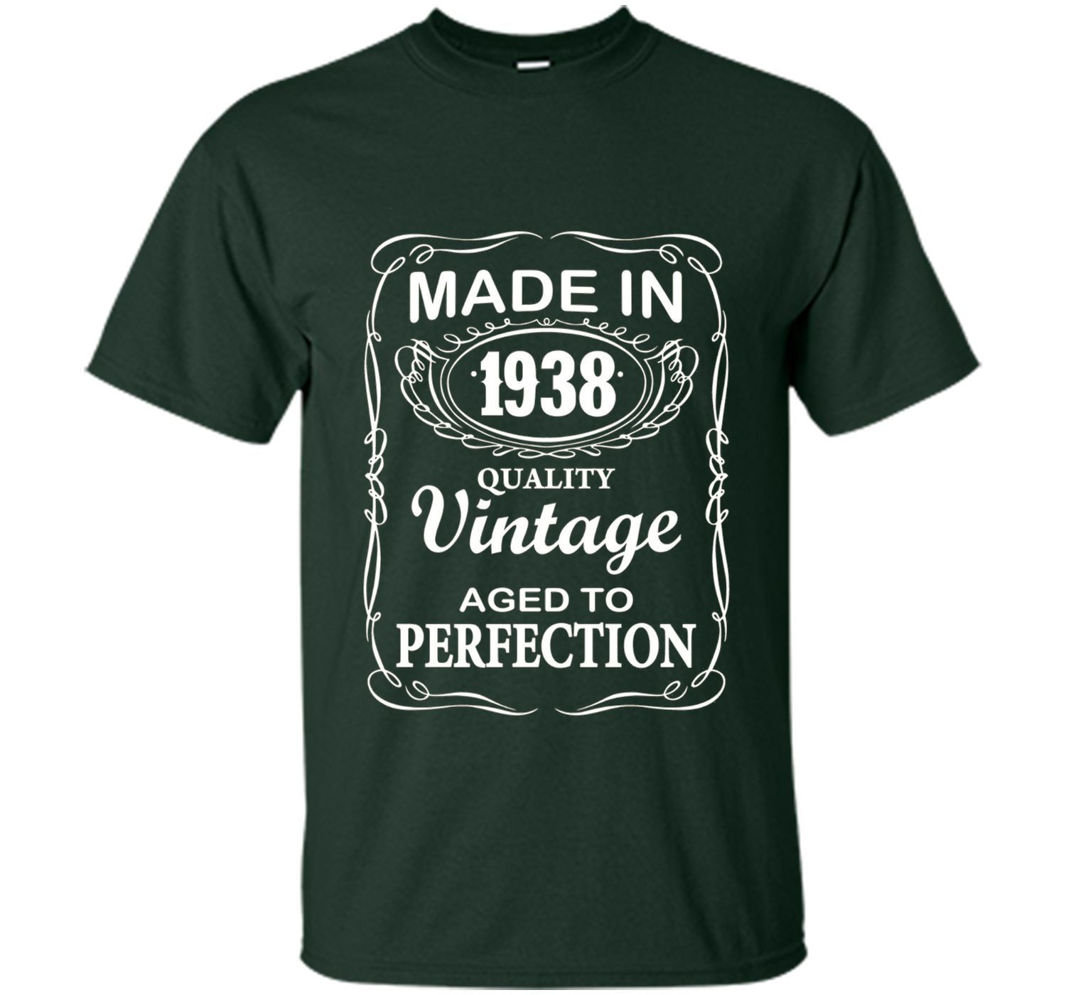 Made in 1938, Quality Vintage, Aged to perfection