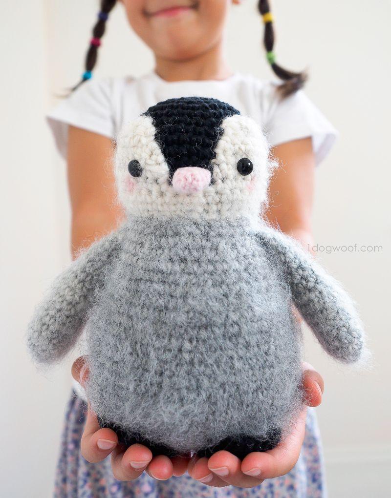 Baby Penguin Amigurumi Toy Crochet Pattern Crochet Penguin Crochet Baby Crochet Amigurumi