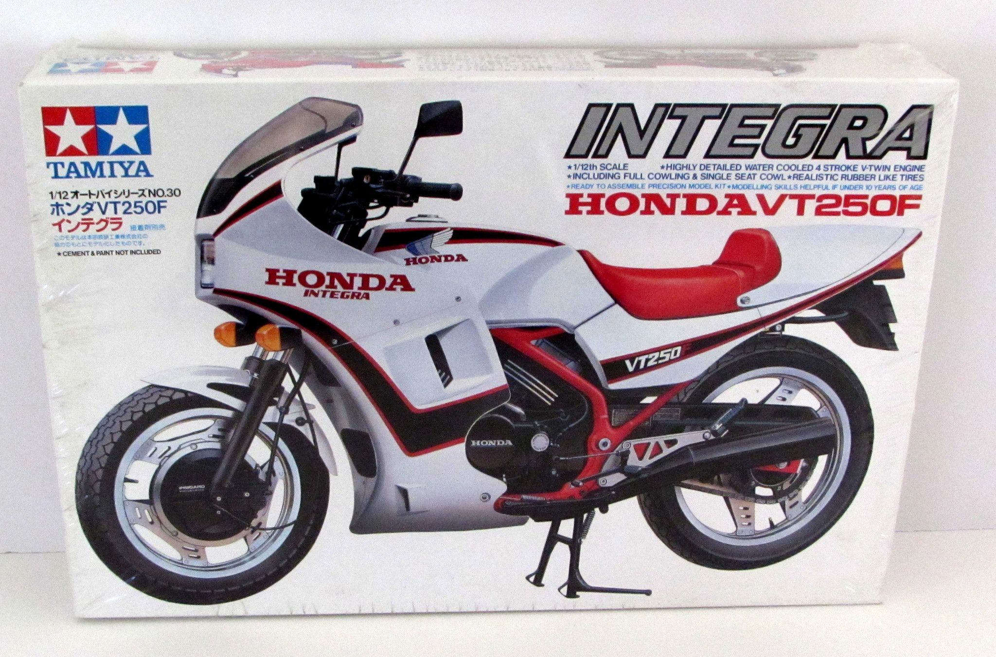 Motorcycle Engine Kits : Honda integra vt f tamiya scale new