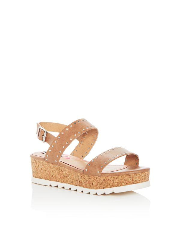 3ab90bf0b1b0 Steve Madden Girls  Slingback Platform Sandals - Little Kid
