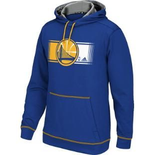 brand new 0d9ba 16fae Adidas Golden State Warriors Tip Off Pullover Hoodie (Blue ...