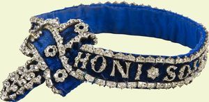 Garter. Commissioned by Queen Victoria, 1837.