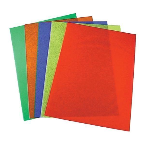 Coloured Acetate Sheets Transparent Gel Film Document Cover Plastic ...