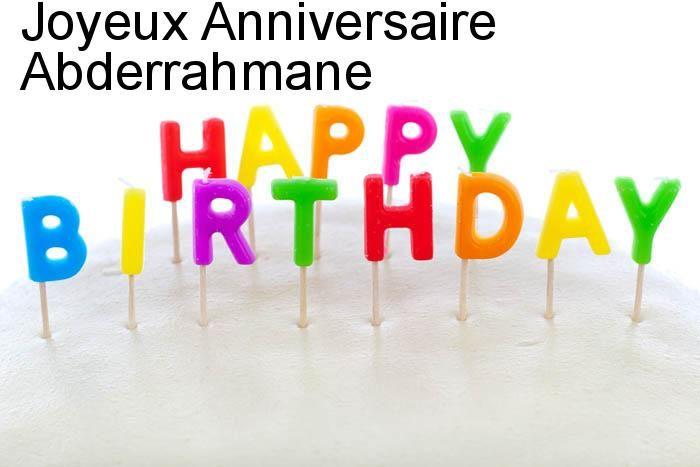 Joyeux Anniversaire Abderrahmane Biba Pinterest Happy Birthday