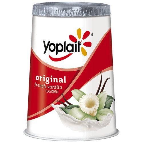 Yoplait Original French Vanilla Yogurt 6 Oz 00070470003238 Vitamins A And D Added Gluten Free Kosher Lactose Free Yoplait Fodmap