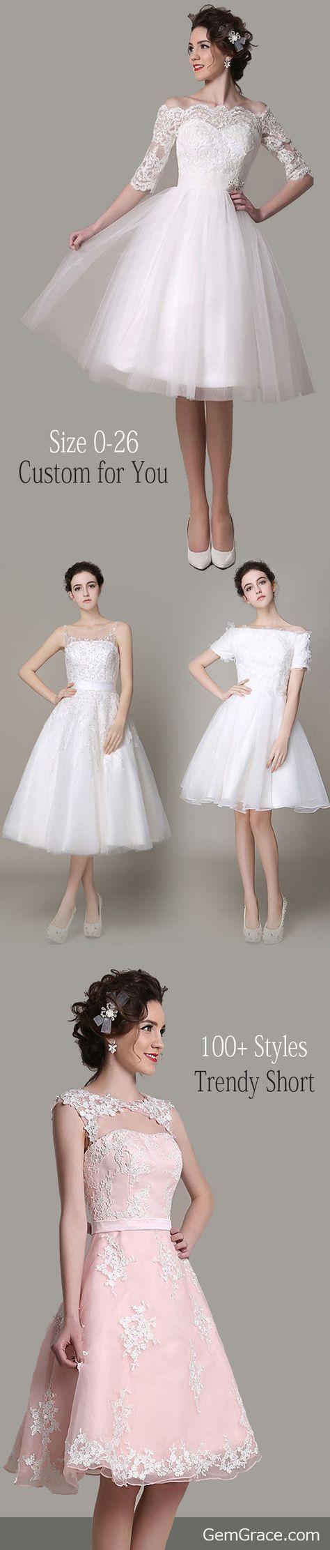Wedding dresses for short women   short wedding dresses Try our best short dresses for your