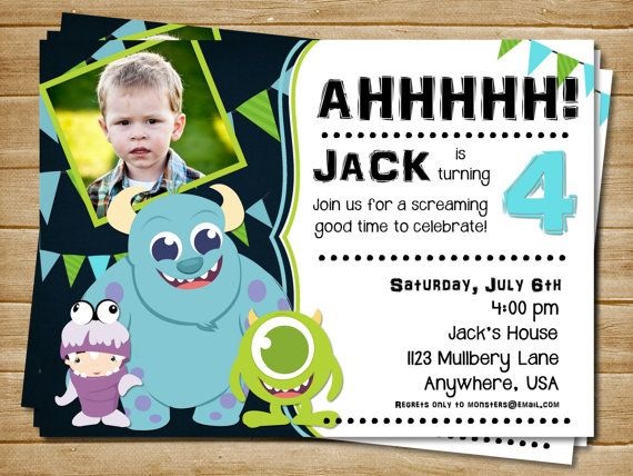 a298830d8e59c80a3408d3f69dcde3bc printable monster birthday invitation monster by sparetimeprints,Monsters Inc Birthday Invitations