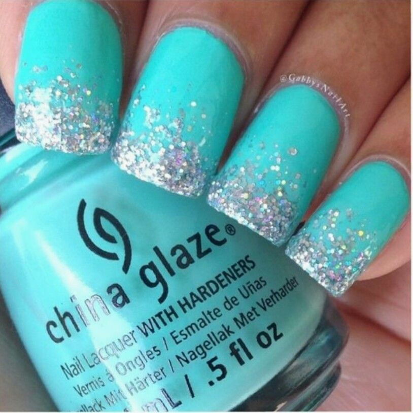 Pin by ana sanchez on love mint nails pinterest homecoming image via pieces of amazing frozen nail art image via wedding aqua nail art pic image via tutorial lang och fyllig tofs image via nail designs to try prinsesfo Gallery