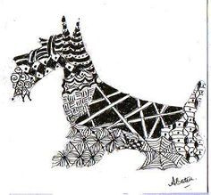 zentangle dogs - Buscar con Google