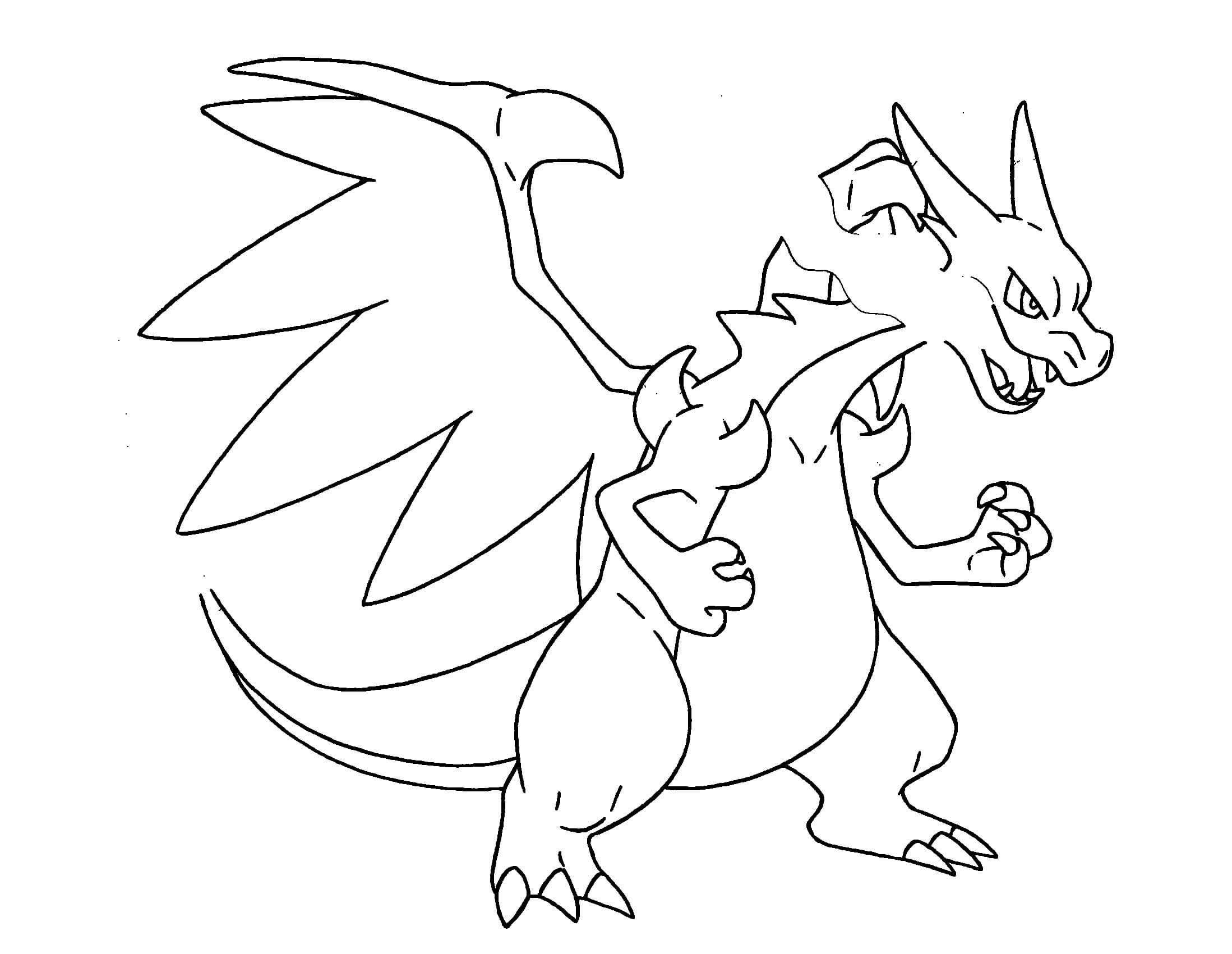 Pokemon Coloring Pages Mega Ex From The Thousand Pictures Online Regarding We Picks Best Collections With