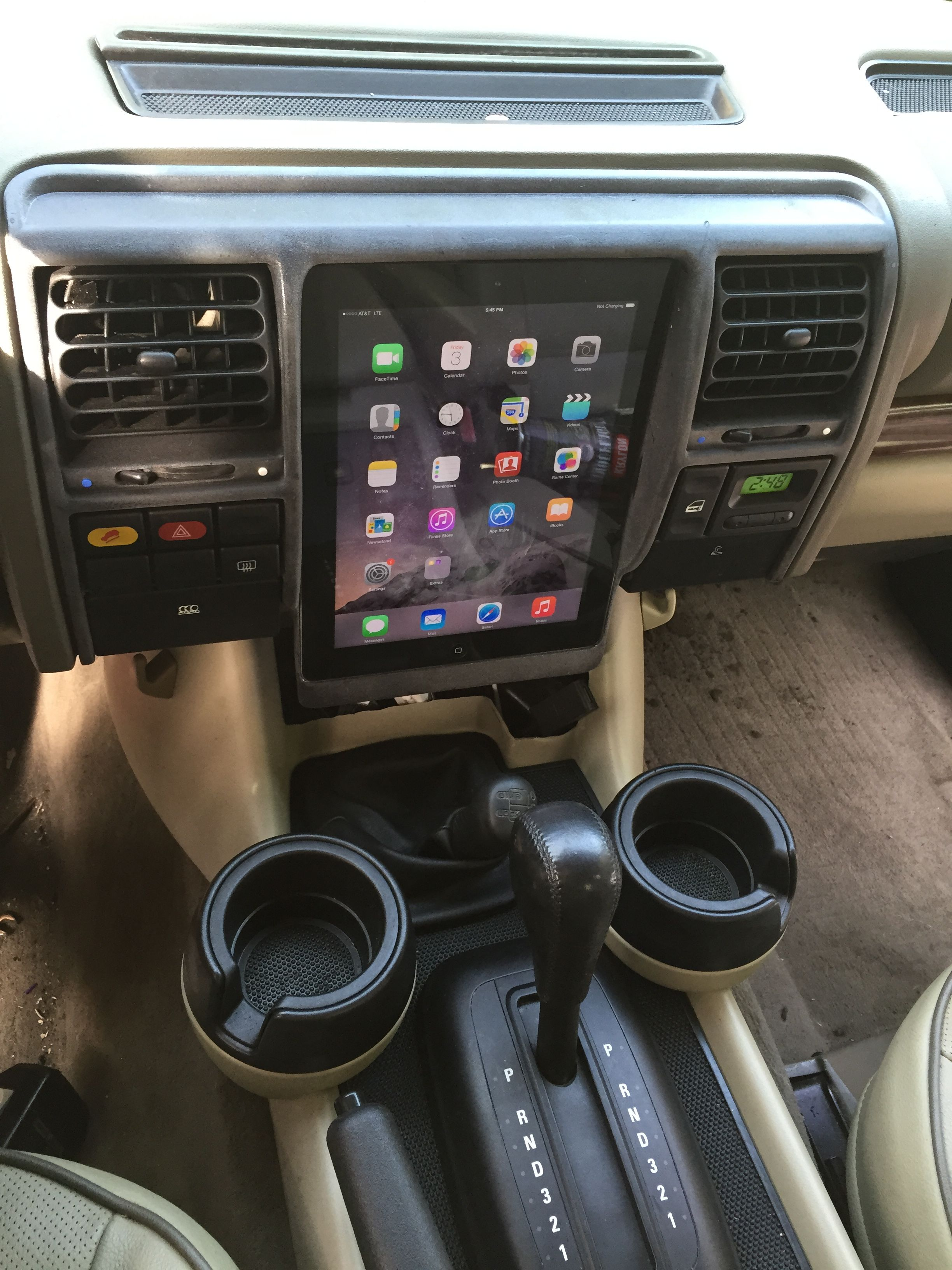 Ipad Dash In A Discovery Page 2 Land Rover Forums