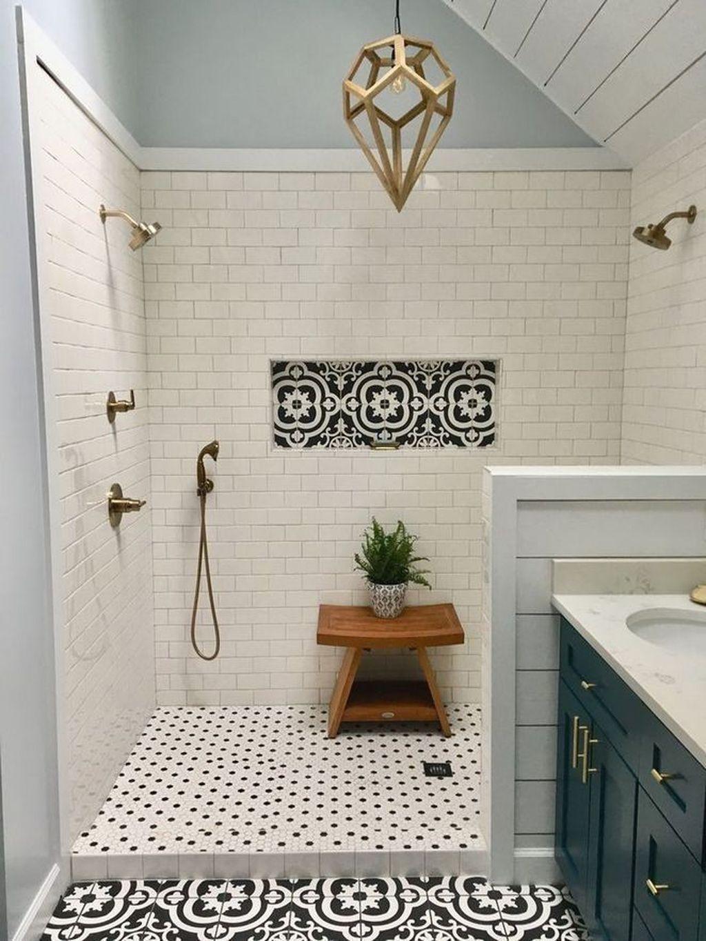 35 Exciting Small Bathroom Ideas Makeover 2020 Best Bathroom Tiles Beautiful Tile Bathroom Amazing Bathrooms