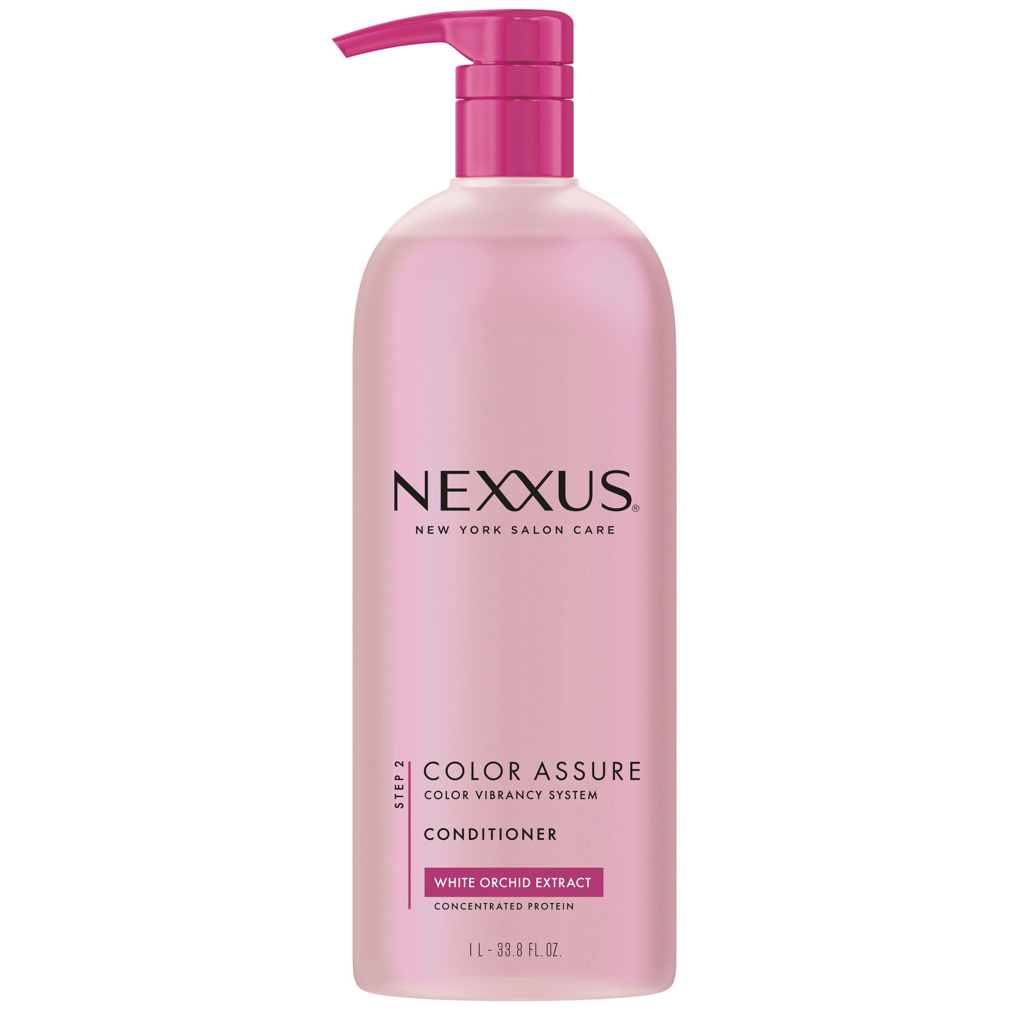 Nexxus White Orchid Extract Color Assure with Pump