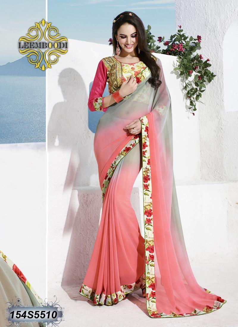 Pin de Leemboodi Fashion en Buy Georgette Sarees Online | Pinterest