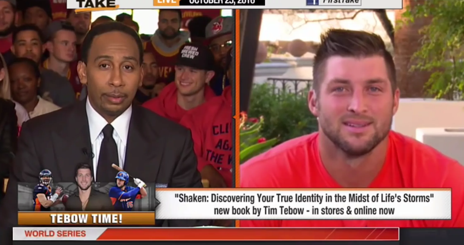 Tebow Defends Dreams Tim tebow, Storm news, True identity