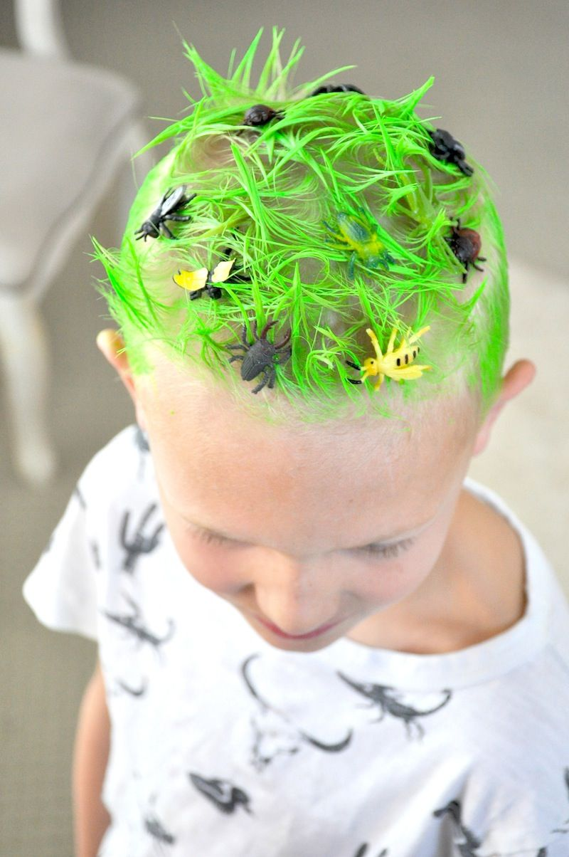 Crazy Hair Day Ideas Surf S Up Bugs Amp Grass Spider Web