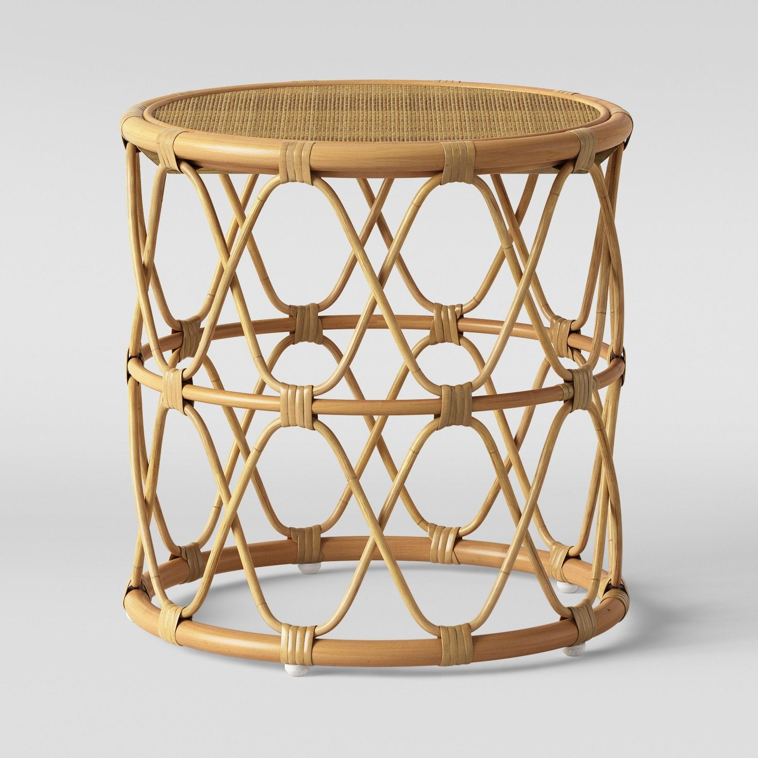 rattan side tables living room contemporary design images jewel round table opalhouse target dream home