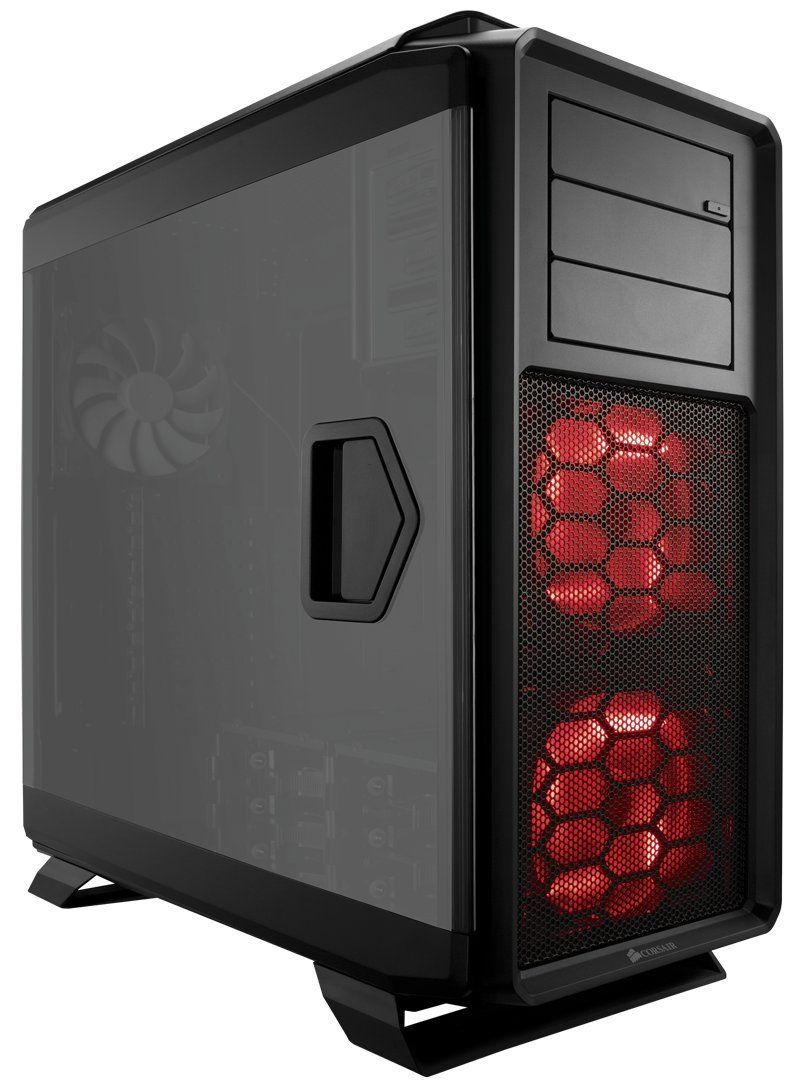Corsair Graphite Series 760T Full Tower Windowed Case - Black | Computer case. Window casing. Panel siding