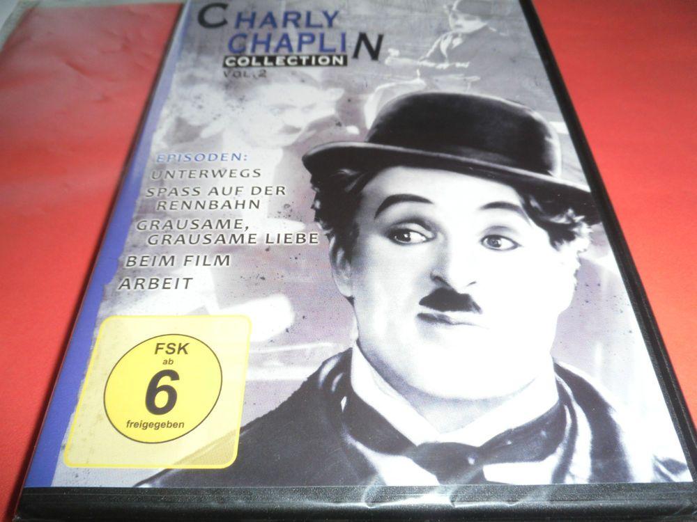Charly Chaplin Collection - Vol. 2   Original m. deut. Untertitel  (s/w)OVP / NEU 3,95 €