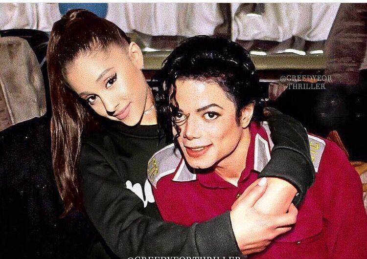 Resultado de imagem para Ariana Grande Michael Jackson