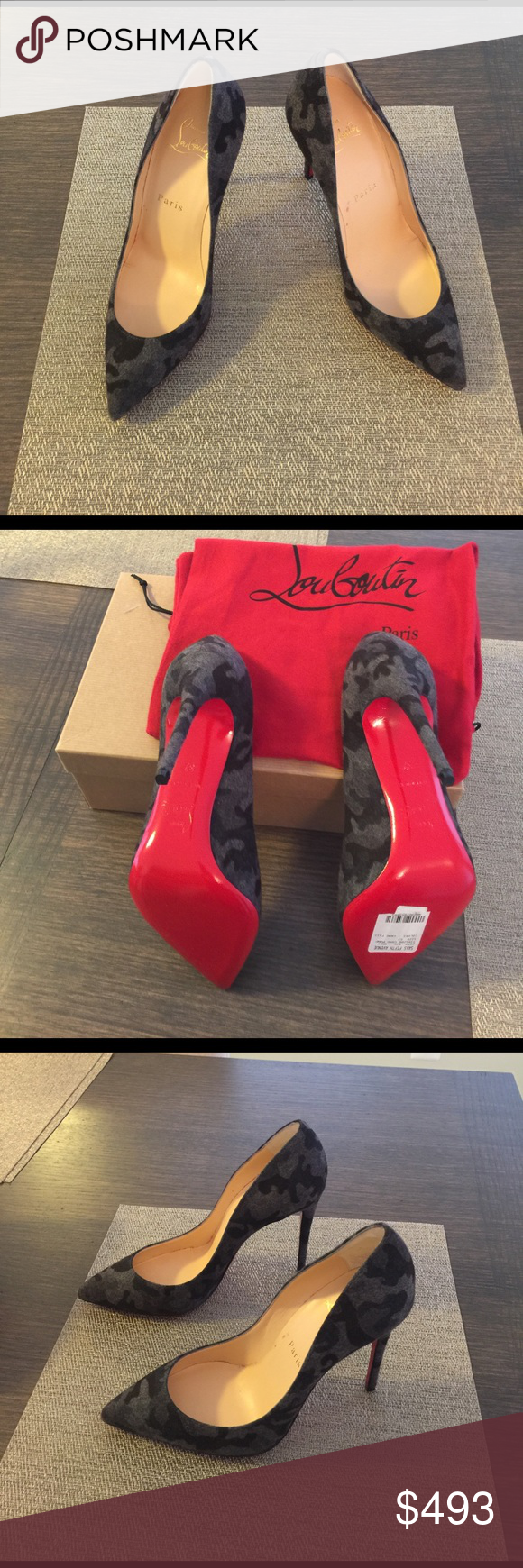 Christian Louboutin heels Never been worn. Original box and dust bags. Christian Louboutin Shoes Heels