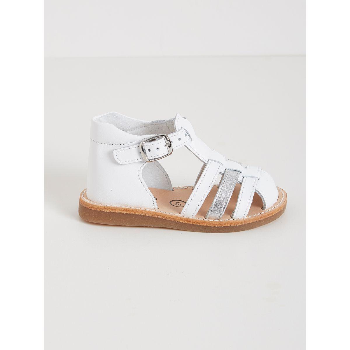 Nouveau Haut Gladiateur Sandales Embelli Bride Arrière Confortable Vacances Chaussures Taille 3-8