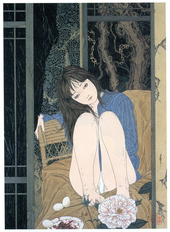 Анатомия секса японские рисунки
