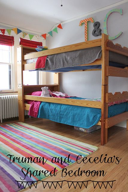 Bunk beds boy and girl room t and c shared room boy girl shared bedroom boy girl shared - Boy and girl shared room ideas bunk bed ...