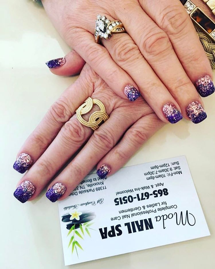 Ombre Nails Nailart Nails Naildesigns Modanailspa Knoxville Tennessee Ombrenails Ombre Nail Spa Nails Instagram Posts