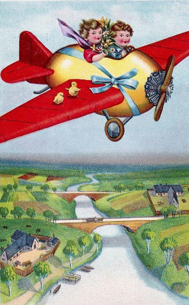 Easter Egg Airplane Aviaciya