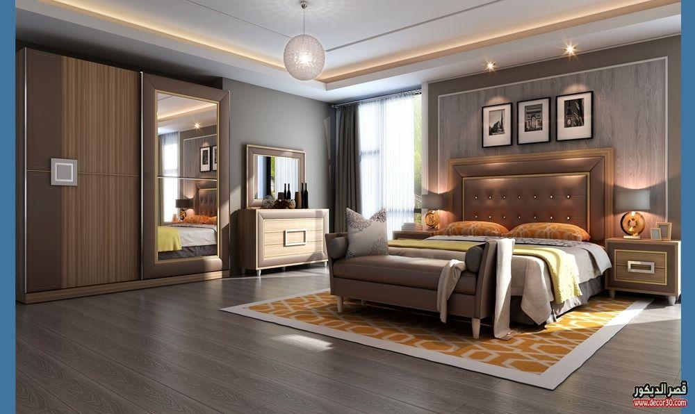 اشكال غرف نوم كاملة بالدولاب جرار 2018 قصر الديكور Furniture Home Decor Home