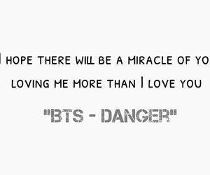 BTS - Danger: | BTS Quotes in 2019 | Bts danger, Bts lyric